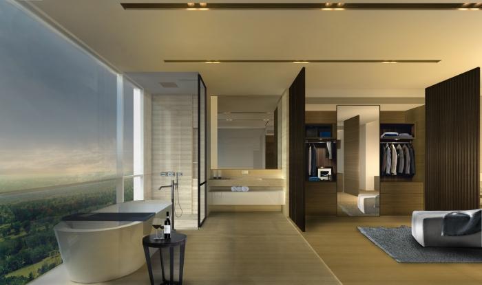 Master Bathroom at Ireo Gurgaon Hills