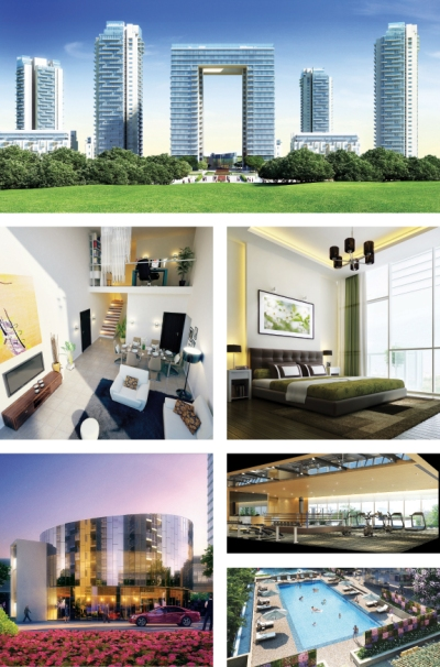 The Grand Arch, located in Sector 58, Gurgaon