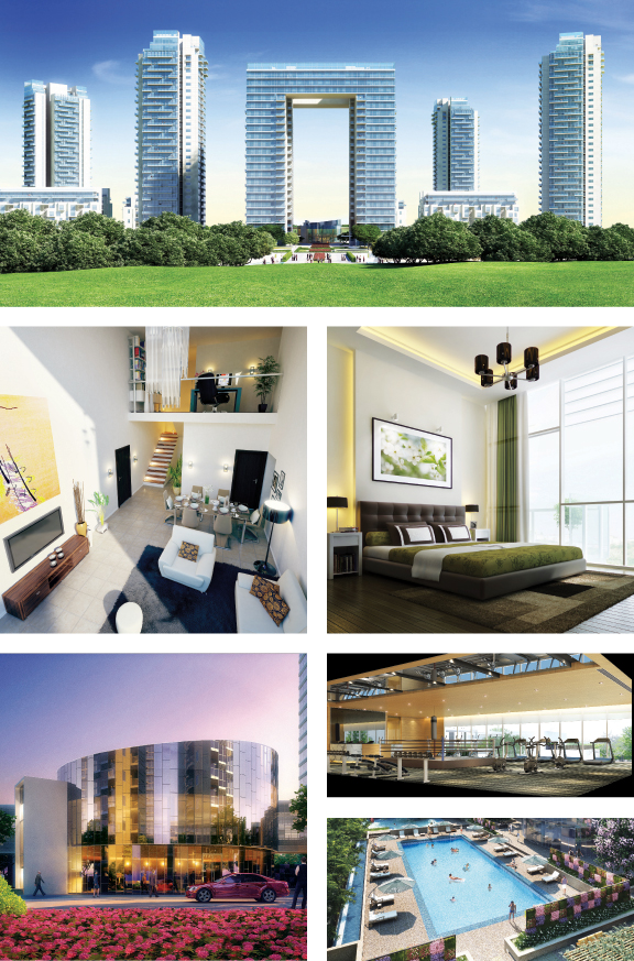 Images from Ireo The Grand Arch, located in Sector 58, Gurgaon
