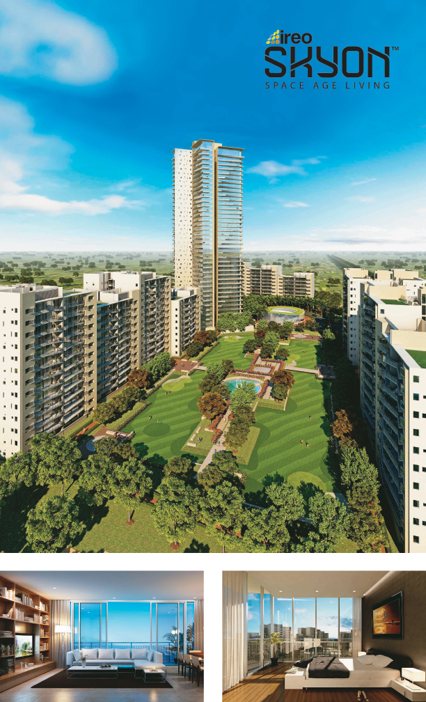 Ireo Skyon, located in Sector 60, Gurgaon