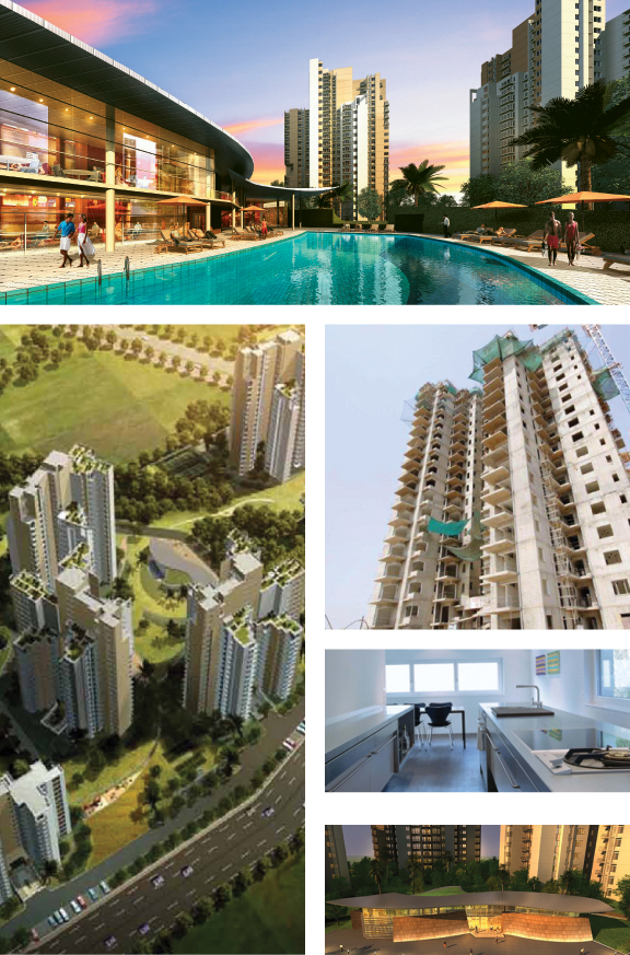 Ireo Uptown, located in Sector 66, Gurgaon, off of Golf Course Road Extension