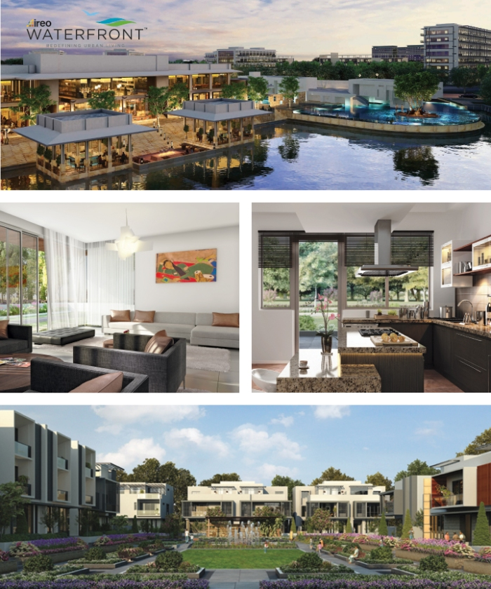 Ireo Waterfront, located in Ludhiana, Punjab, is a 500 acre township
