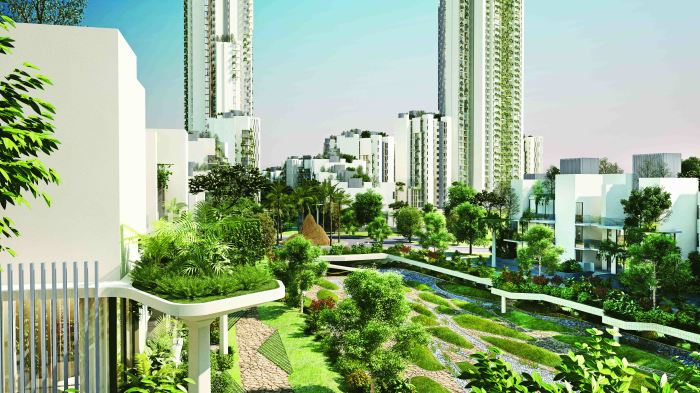 Spread over a generous 7.4 acres, the valley is made up of eight themed gardens, to ensure there is something to suit every mood and taste. Ireo Victory Valley, Gurgaon