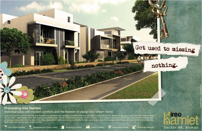 Click to download information about Ireo Hamlet, a community of plots and villas located in Sector 98, Mohali